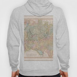 Vintage Map Print - 1799 map of Swabia by John Cary Hoody