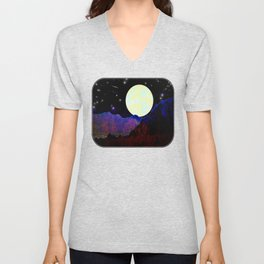 Valley of the Moon Unisex V-Neck