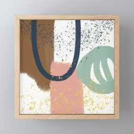 Minimalist Abstract Framed Mini Art Print