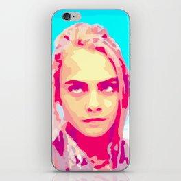 Cara Delevingne in Valerian iPhone Skin
