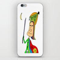 samurai iPhone & iPod Skins featuring SAMURAI by Joe Pansa