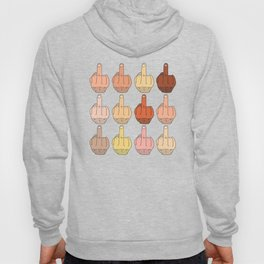 Multicultural Middle Fingers Hoody