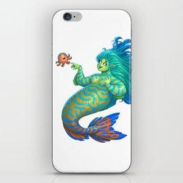Mandarin Mermaid iPhone Skin