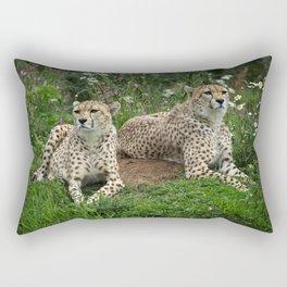 Resting Cheetahs Rectangular Pillow
