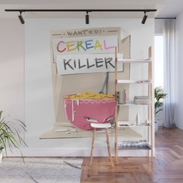 Cereal Killer Wall Mural