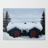 sweden Canvas Prints featuring Sweden by Kimberly Vogel Travel Photographer