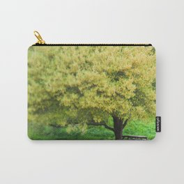 Picnic Table Under Tree Photography Carry-All Pouch