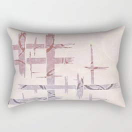 Sumi Pattern with Bamboo Rectangular Pillow