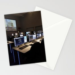 Photos of the Launch Vehicle Data Center in Hangar AE - Room 1 of LVDC Stationery Cards