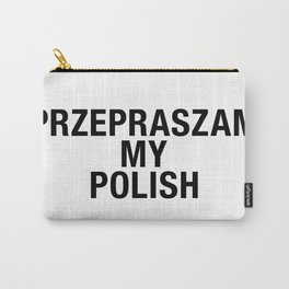 POLISH Carry-All Pouch