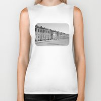 baltimore Biker Tanks featuring East Baltimore by Andrew Mangum