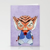 thundercats Stationery Cards featuring A Boy - Tygra (Thundercats) by Christophe Chiozzi