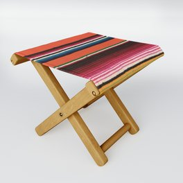 BEAUTIFUL MEXICAN SERAPE Folding Stool