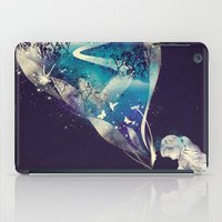 eye iPad Cases featuring Dream Big by dan elijah g. fajardo