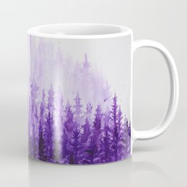 Misty mountain forest Coffee Mug