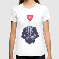 valentine T-shirts featuring Mr. Valentine by Davies Babies