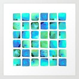 Seaweed Glow Art Print