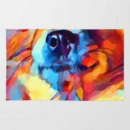 Chihuahua Watercolor Rug