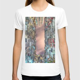 Hong Kong architecture T-shirt