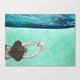 Underwater Ocean Series #2 Canvas Print
