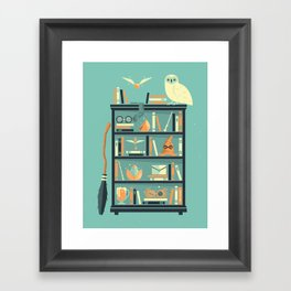 Potter Shelf | Rowling Framed Art Print