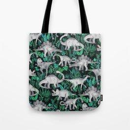 Dinosaur Jungle Tote Bag