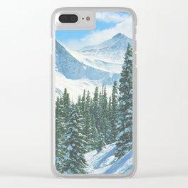 Pacific Peak from Copper Mountain Ski Area, Colorado Clear iPhone Case