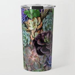 Succulent gardens Travel Mug
