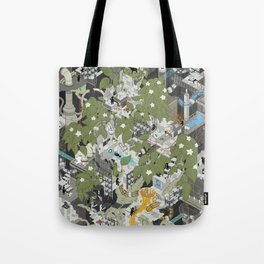 Aperture Science: All science, all the time Tote Bag