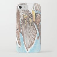 guardians iPhone & iPod Cases featuring Guardians by Connie Campbell
