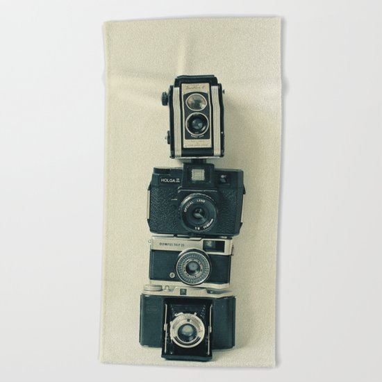 Camera Love Beach Towel