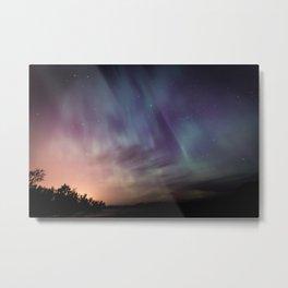 Aurora Borealis Metal Print