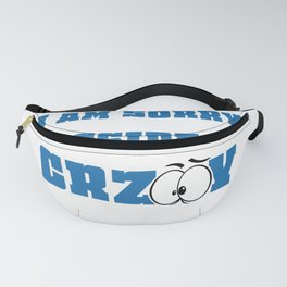 I'M Sorry About Our President Anti Trump Democrats Funny Political Statement Fanny Pack