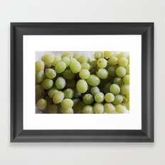 Green Grapes Framed Art Print