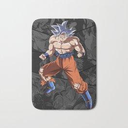 Goku Ultra Instict Broly Saiyan Bath Mat