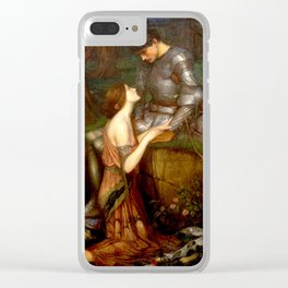John William Waterhouse Lamia Clear iPhone Case