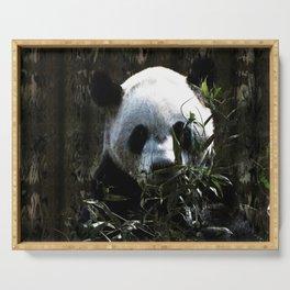 Chinese Giant Panda Bear Serving Tray