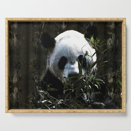 Chinese Giant Panda Bear Serving Tray