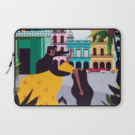 Havana ft. Salsa Dancers Laptop Sleeve