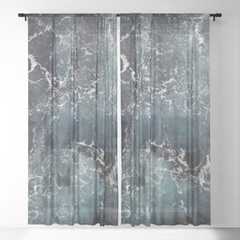 Cold Cold Water Sheer Curtain