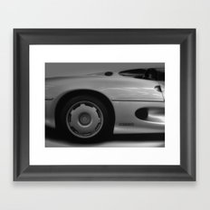 Jaguar XJ220 Framed Art Print