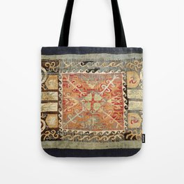 Kaitag 18th Century Caucasian Embroidery Print Tote Bag