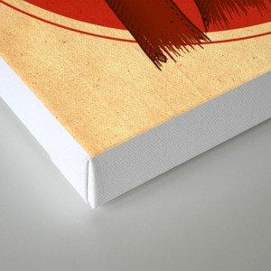 {Bosque Animal} Oso Canvas Print