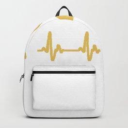 Heartbeat Shisha gold Backpack