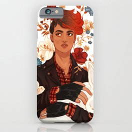 Aubrey Little, Lady Flame iPhone Case