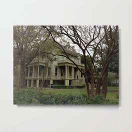 green house in the garden district Metal Print