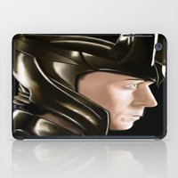 loki iPad Cases featuring Loki by Satanoncrack