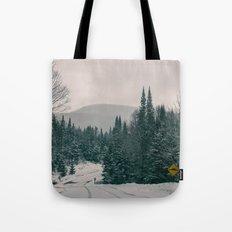 Lost in Winter Tote Bag