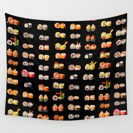 Sushi set Wall Tapestry