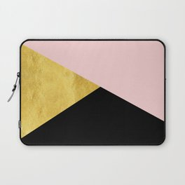 Color Bloc Triangles Laptop Sleeve